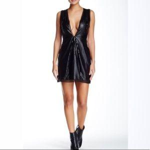 Stylestalker Cleopatra Faux Leather Dress XS